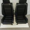 bmw e30 zwart lederen sportstoelen voor cabriolet cabrio