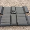 bmw E30 M3 leather backseat rucksitzbank rucksitz sitzbank schwartz leder Evo 2