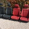 BMW E30 Reupholstery seiten wangen bolsters new OEM fabric 0211 0269 editon touring M3 M tech 2 Mtech 1