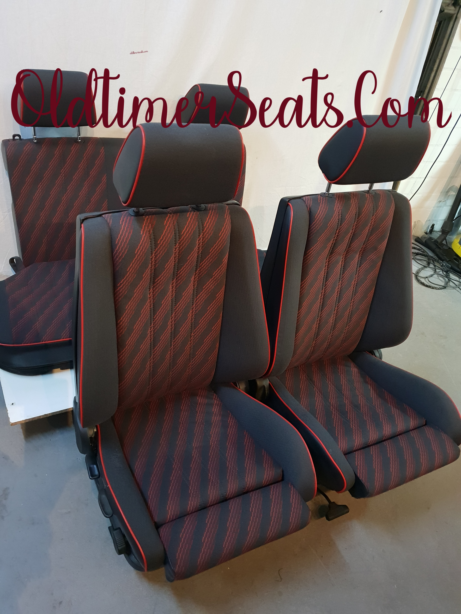 Bmw E30 Touring Red Edition Sport Complete Interior Oldtimerseats Com