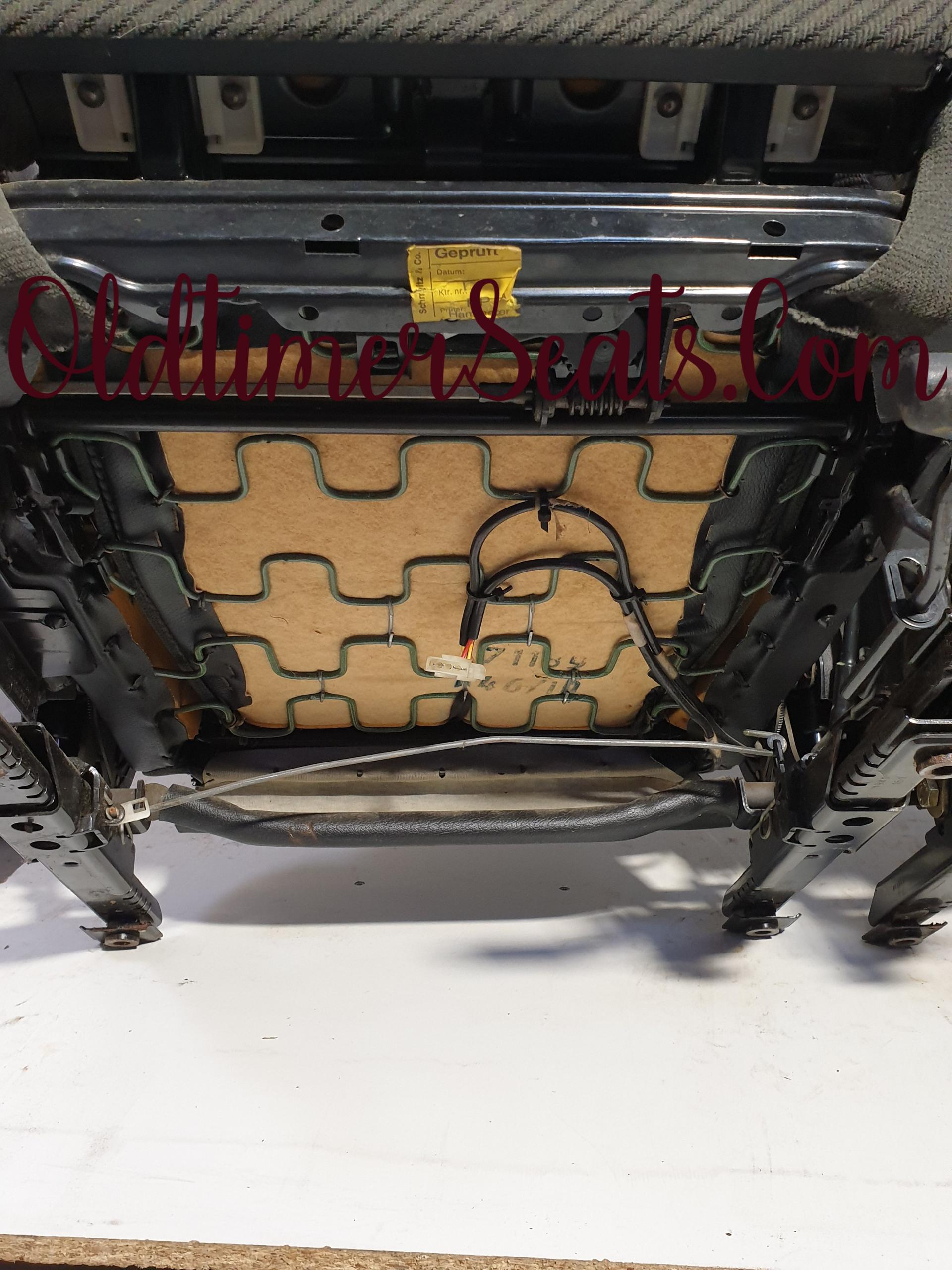bmw e30 sportseats 4 door sedan 0269 polstery