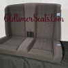 BMW E30 Convertible / cabrio Hahnentritt backseat 0211