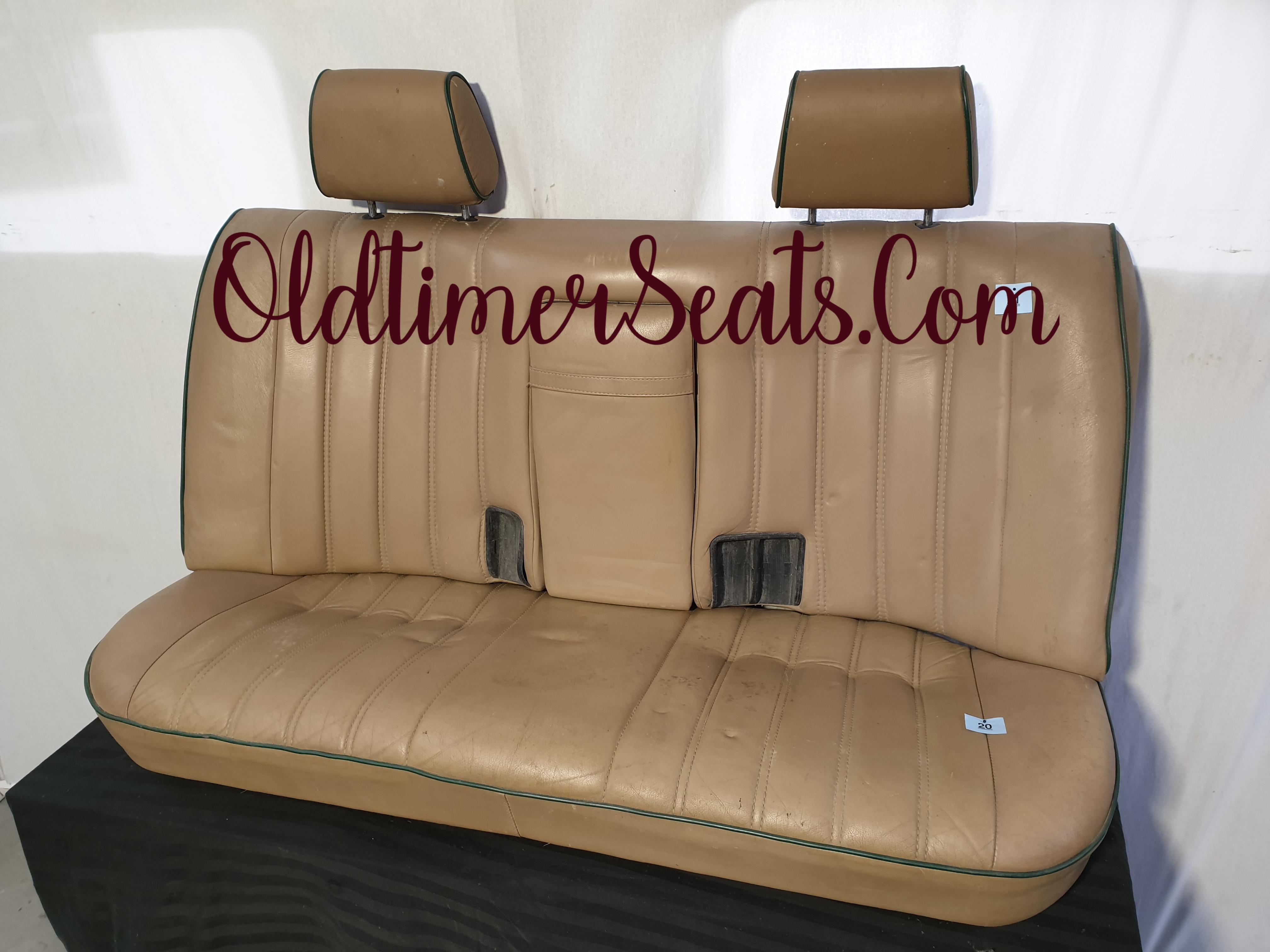BMW E30 sport interior innenausstattung interieur leder achterbank natur beige