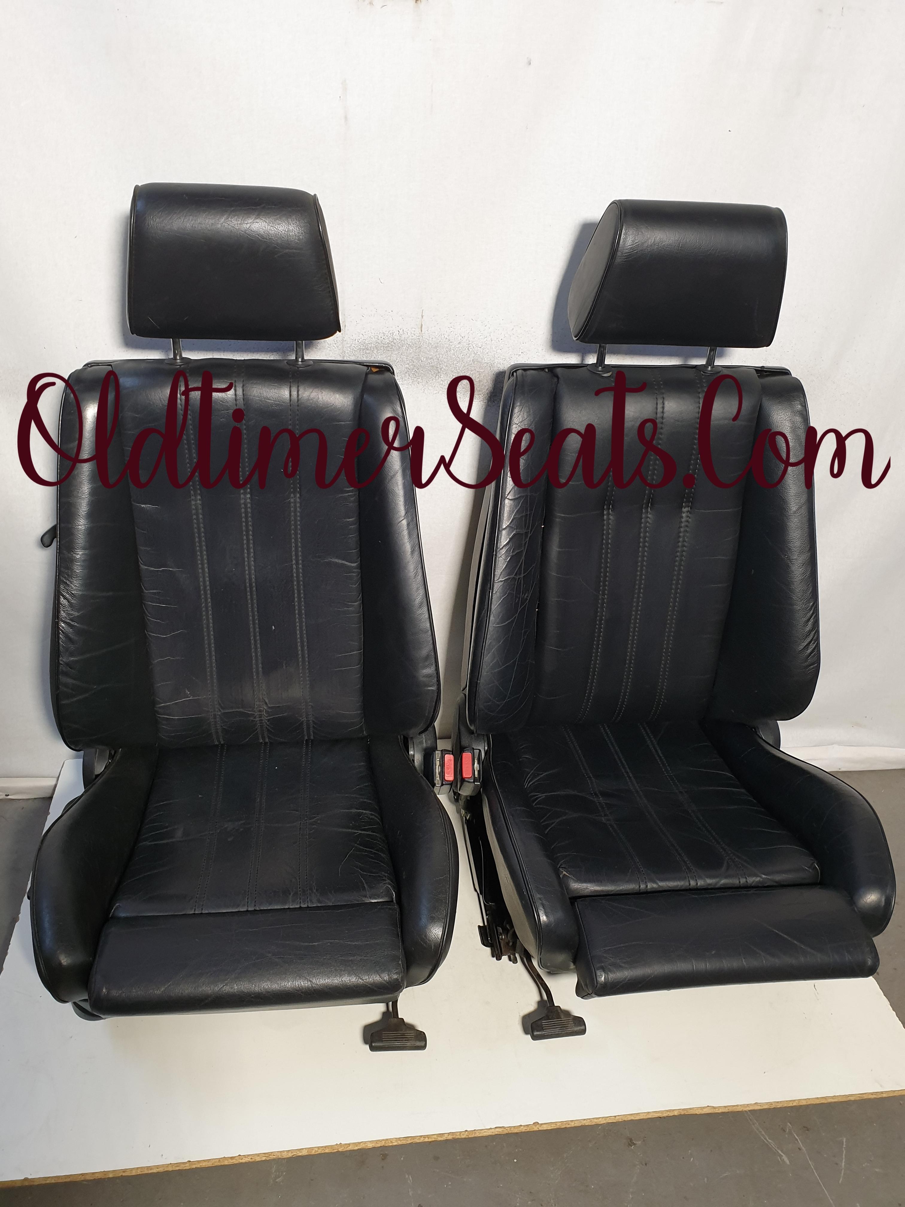 BMW E30 Mtech Interior M tech Leather black