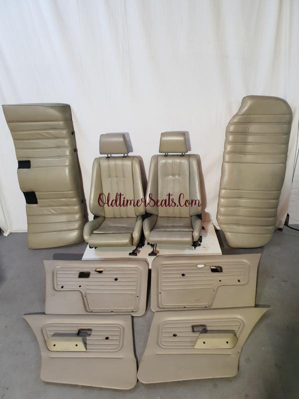 bmw e30 interior sportseats leather perl beige perbeige