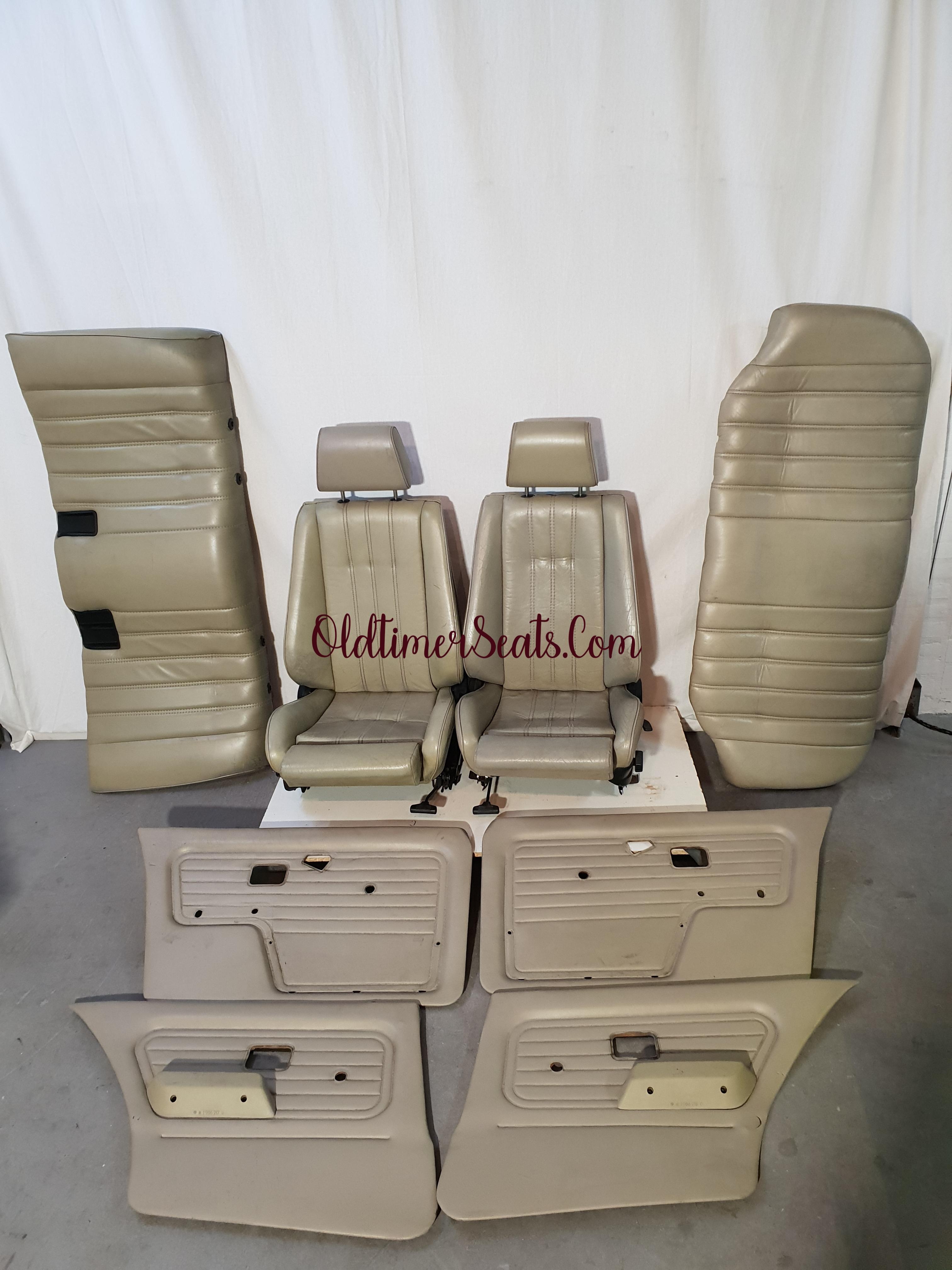 bmw e30 sportseats leather perl beige perbeige