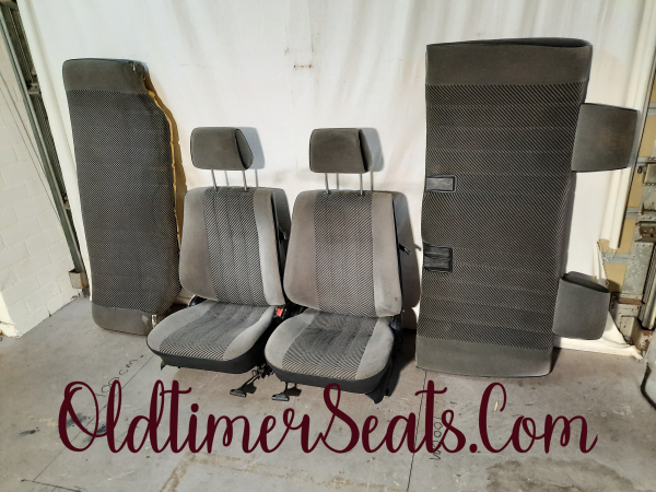 BMW E30 Edition seats Fabric