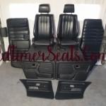 BMW E30 4 Door Sport interior in black leather in mint conditon