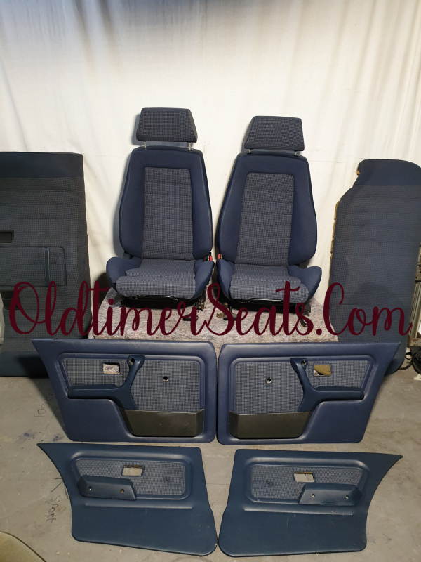 BMW E30 RECARO 0212 reupholstery new OEM reupholster sadler stoff fabric M3